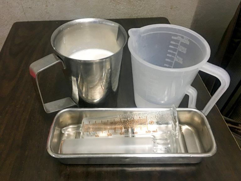 鼻胃管護理工具:灌食針筒